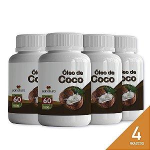 50% de Desconto no Óleo de Coco Sonatura, comprando 4 Frascos