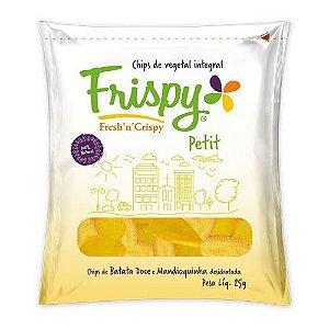 Salgadinho Chips Petit Batata Doce e Mandioquinha Frispy 25g