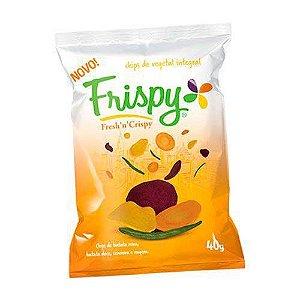 Salgadinho Chips Vegetal Integral Frispy Mix Original 40g