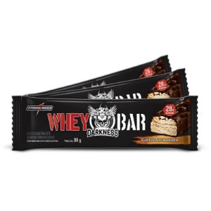 Barra de Proteína Sabor Peanut Butter C/ Amendoim Darkness 90g INTEGRALMEDICA