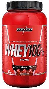 Whey 100% Pure Sabor Chocolate 907g INTEGRALMEDICA