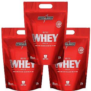 NutriWhey Protein Morango 1,8kg INTEGRALMEDICA