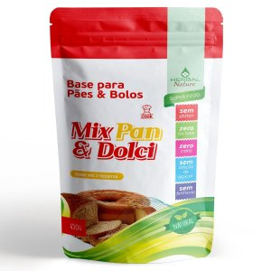 Base para Pães e Bolos 450g Herbal Nature