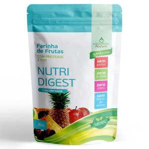 Farinha de Frutas Nutri Digest 200g Herbal Nature