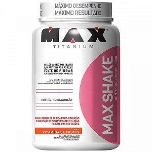 Max Shake Controle Redução Peso Emagrecedor Max Titanium vitamina de frutas
