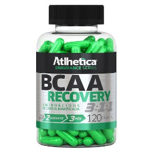 Bcaa Recovery - 120 Cápsulas - Atlhetica 3:1:1