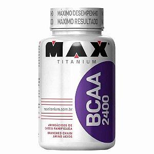 Bcaa 2400mg - 60 Cápsulas / tabletes - Max Titanium