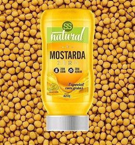Mostarda Zero SS Natural 420g
