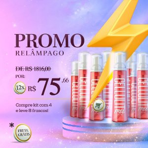 PROMO CELLULIT FREE: Compre 4 e Leve 8 frascos (150ml) + FRETE GRATIS