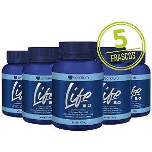 5 frascos de  Life 2.0