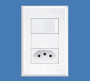 1 Tomada + 2 Interruptores 20 A