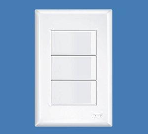 Interruptor 3 Teclas Simples 16A