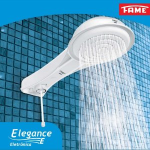 Chuveiro Ducha Elegance Eletrônica 4 T
