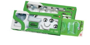 Kit Acessórios para Banheiros 5 Peças ABS Twister
