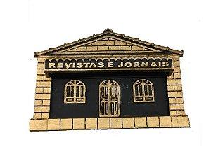 Caixa Para Correios Jornal de Embutir Dourada Média - BRAGIONI