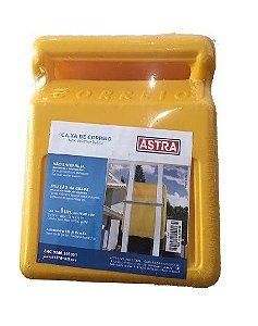 Caixa de Correios Para Grade Amarela (Média) - ASTRA