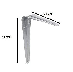 Cantoneira 26x31cm Cinza