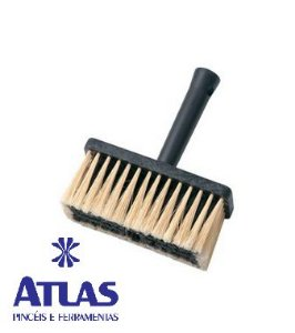 Broxa Plástica Preta 18 x 8.0 CM 800/2 - ATLAS