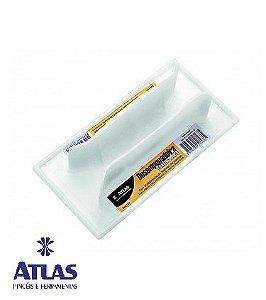Desempenadeira para Textura de Plástico pequena 16 x 8 CM - ATLAS