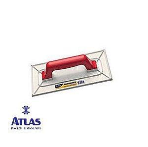 Desempenadeira para Textura de Plástico Média 27x14CM - ATLAS