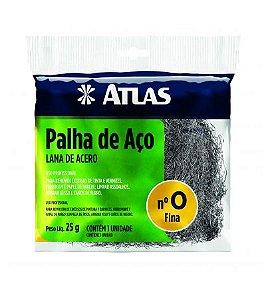 Palha de Aço nº 0 Fina - ATLAS