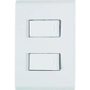 2 Interruptor Simples 10A/250V - LIZ - TRAMONTINA