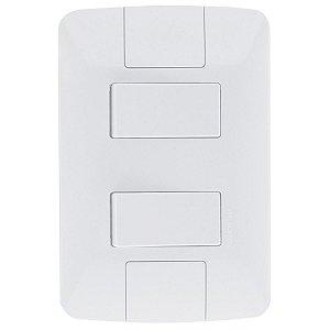 2 Interruptor Simples 6A/250V ARIA - TRAMONTINA