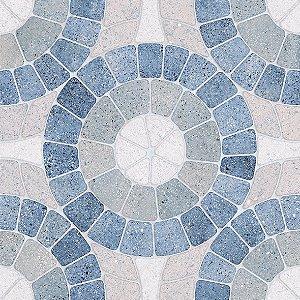 Piso Mosaico Blue 52x52 PEI4 - CERAMICA CERAL