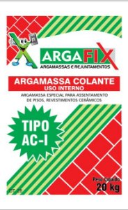 Argamassa AC-01 20KG - Argafix