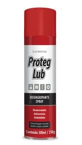 Desemgripante/Anti Ferrugem Spray Proteg Lub 300 ML - Baston
