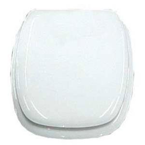 Assento Almofadado Quadrado Branco - ASTRA