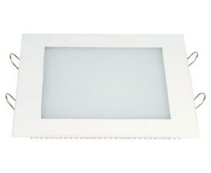 Painel LED Embutir 12 x 12 Quadrado 6 W 390 Lumens 6500K