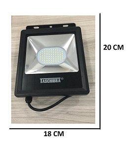 Refletor TR LED 50W 6500K Luz Branca (Interna/Externa)