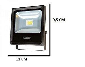Refletor TR LED 10W 6500K Luz Branca (Interna/Externa)