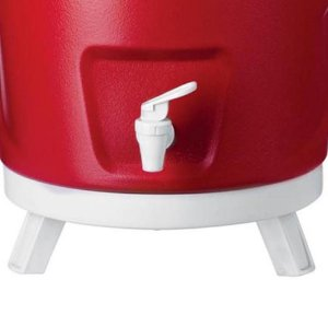 Garrafa Térmica 12 Litros Tripé - Vermelha