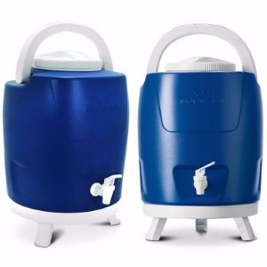 Garrafa Térmica 12 Litros Tripé - Azul