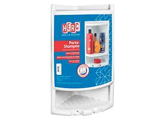 Porta Shampoo - Cinza Claro