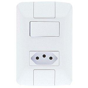 1 Interruptor Simples + 1 Tomada 2P+T 20A/250V - ARIA