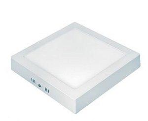 Painel LED Sobrepor 21x21 Quadrado 18W 6500K