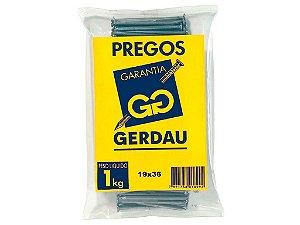 Prego 19x36 - GERDAU