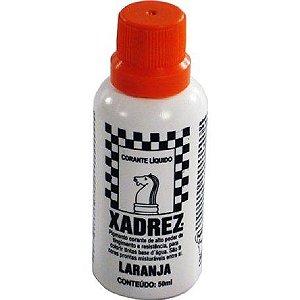 Bisnaga Xadrez 50 ml - Laranja