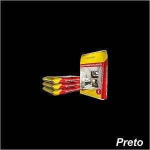 Rejunte 1 KG Preto- Argaforte