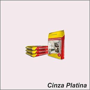 Rejunte 1 KG Cinza Platina- Argaforte