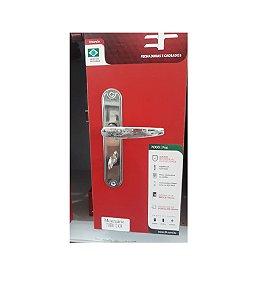 Fechadura para Banheiro Fashion 718B 112 Cromada - 3F