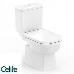 Vaso Sanitário Elite ( Kit Assento + Anel de Instalação + Engate + fixadores ) - CELITE