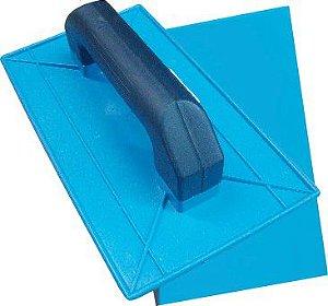 Desempenadeira Azul 16 x 28 Lisa - Senior's