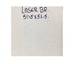 Piso Laser Branco 52x52 PI5 (2,65 M²) - CERAMICA CERAL