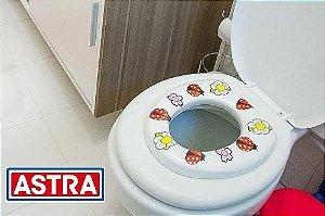 Assento Sanitário Infantil Fofinho Adaptador ( Joaninha ) - ASTRA