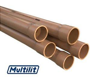 Tubo Soldável Água Fria 50 M.M. - MULTILIT