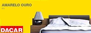 Tinta Acrílico Fosco Profissional 18 Litros Amarelo Ouro - DACAR